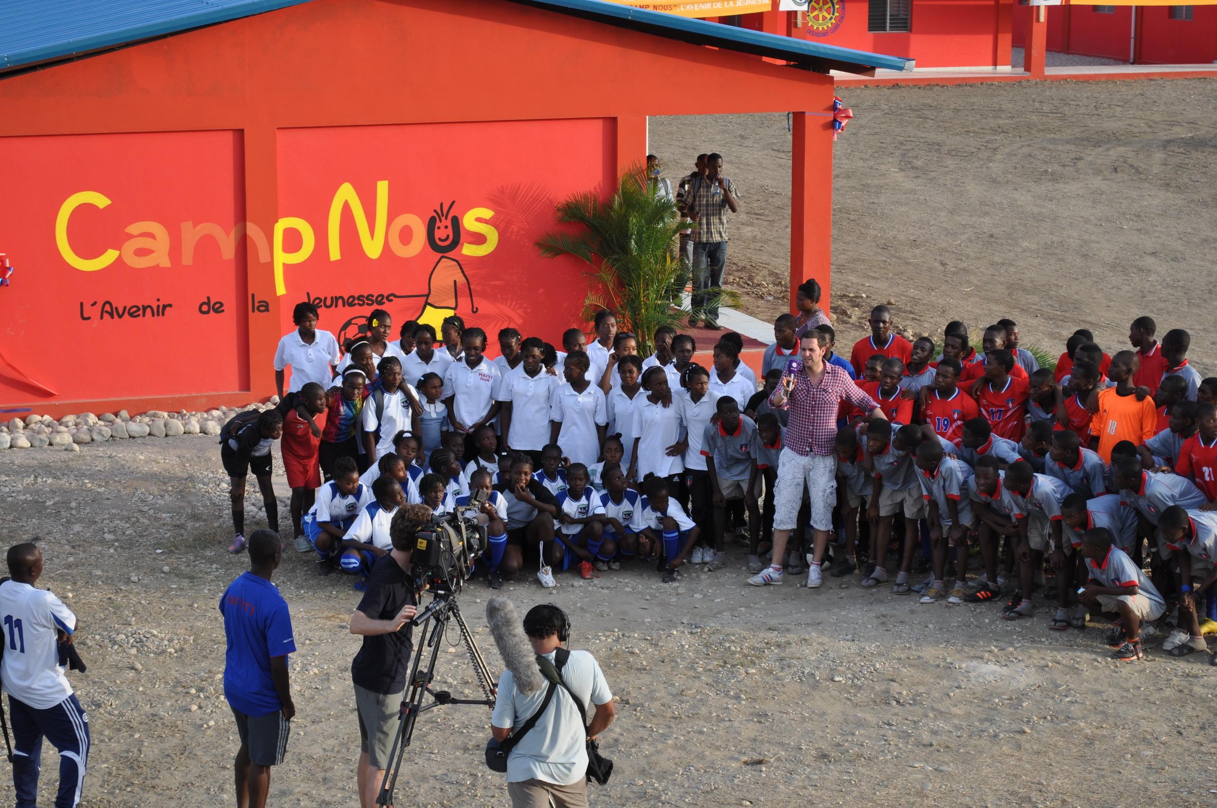 ran hilft Haiti