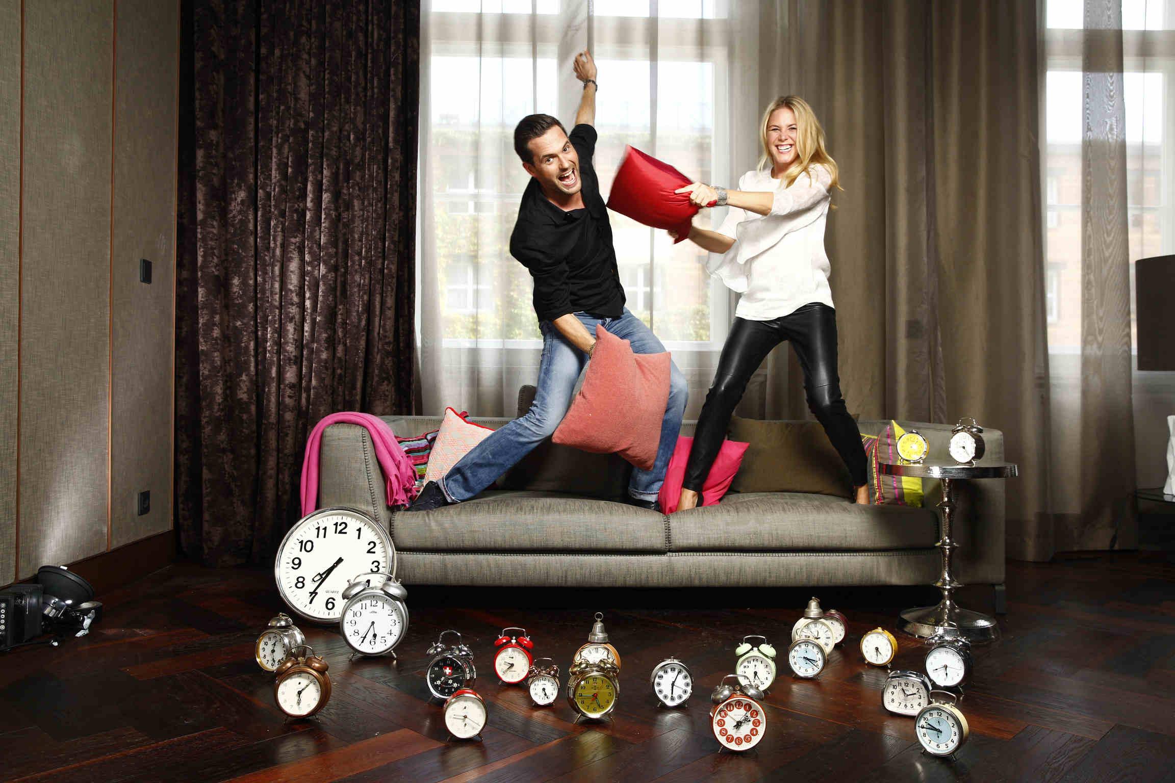 Freude bei Alina Merkau und Matthias Killing