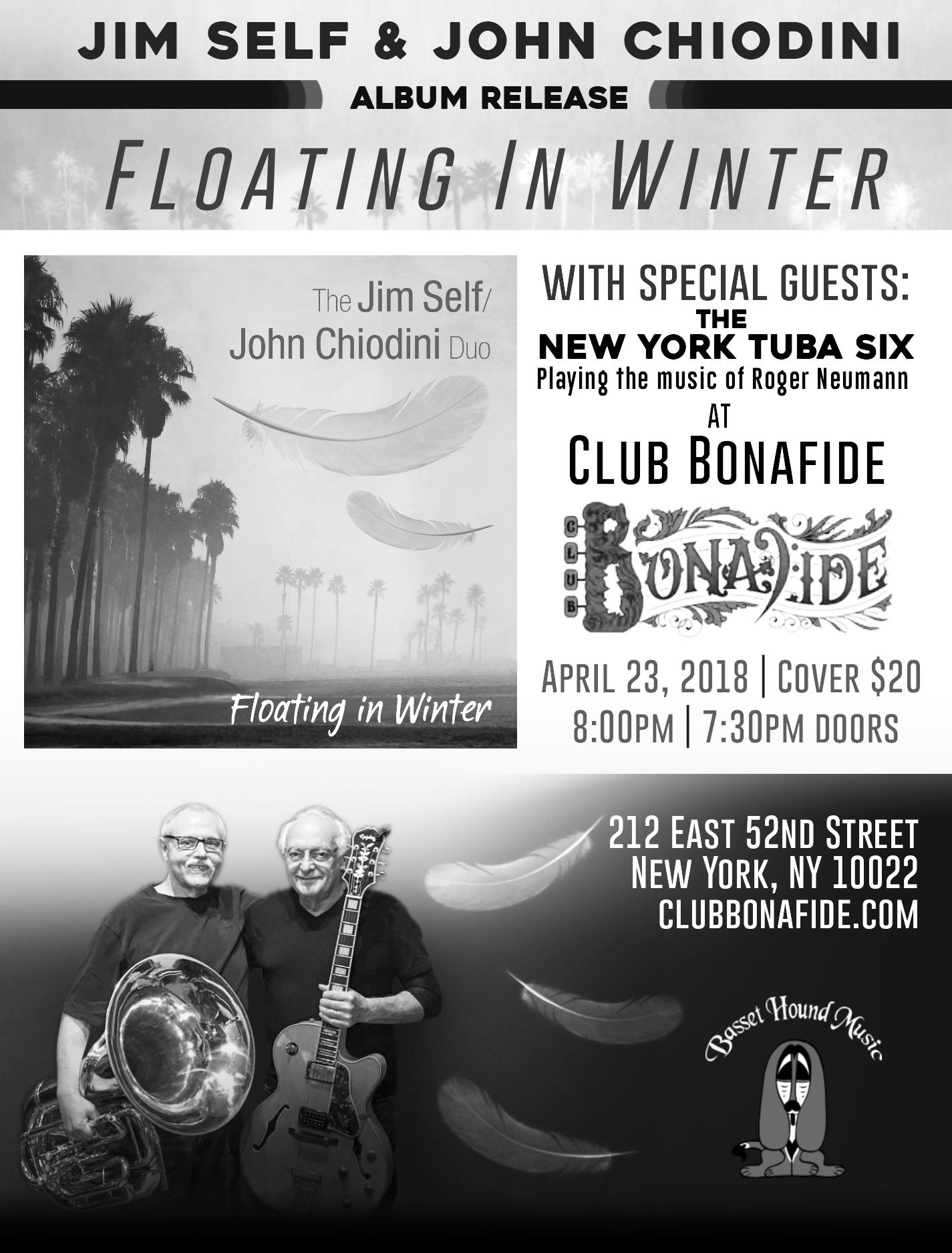 Jim Self & John Chiodini Club Bonafide Ad