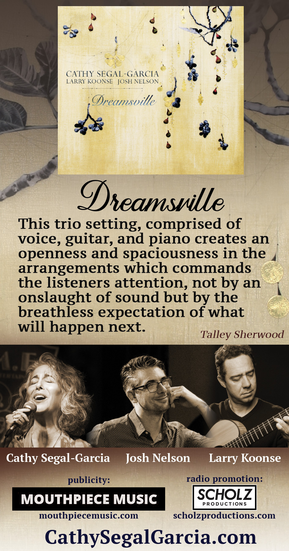 The NYC Jazz Record Dreamsville Ad