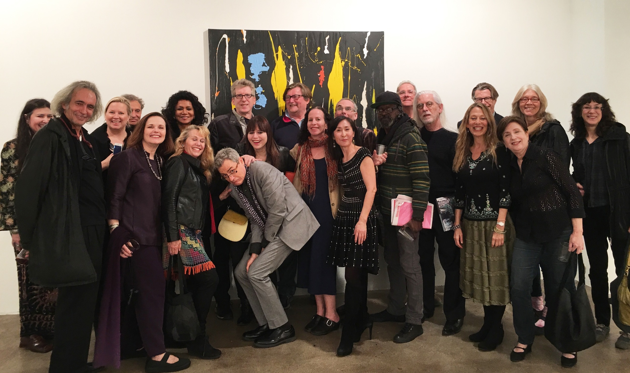 My artist peers who came by to celebrate...