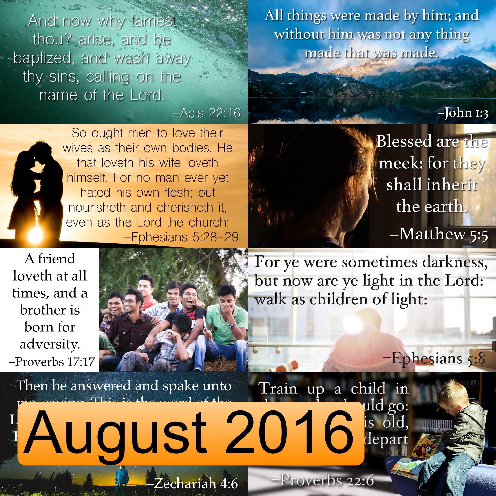 August 2016 Image Pack