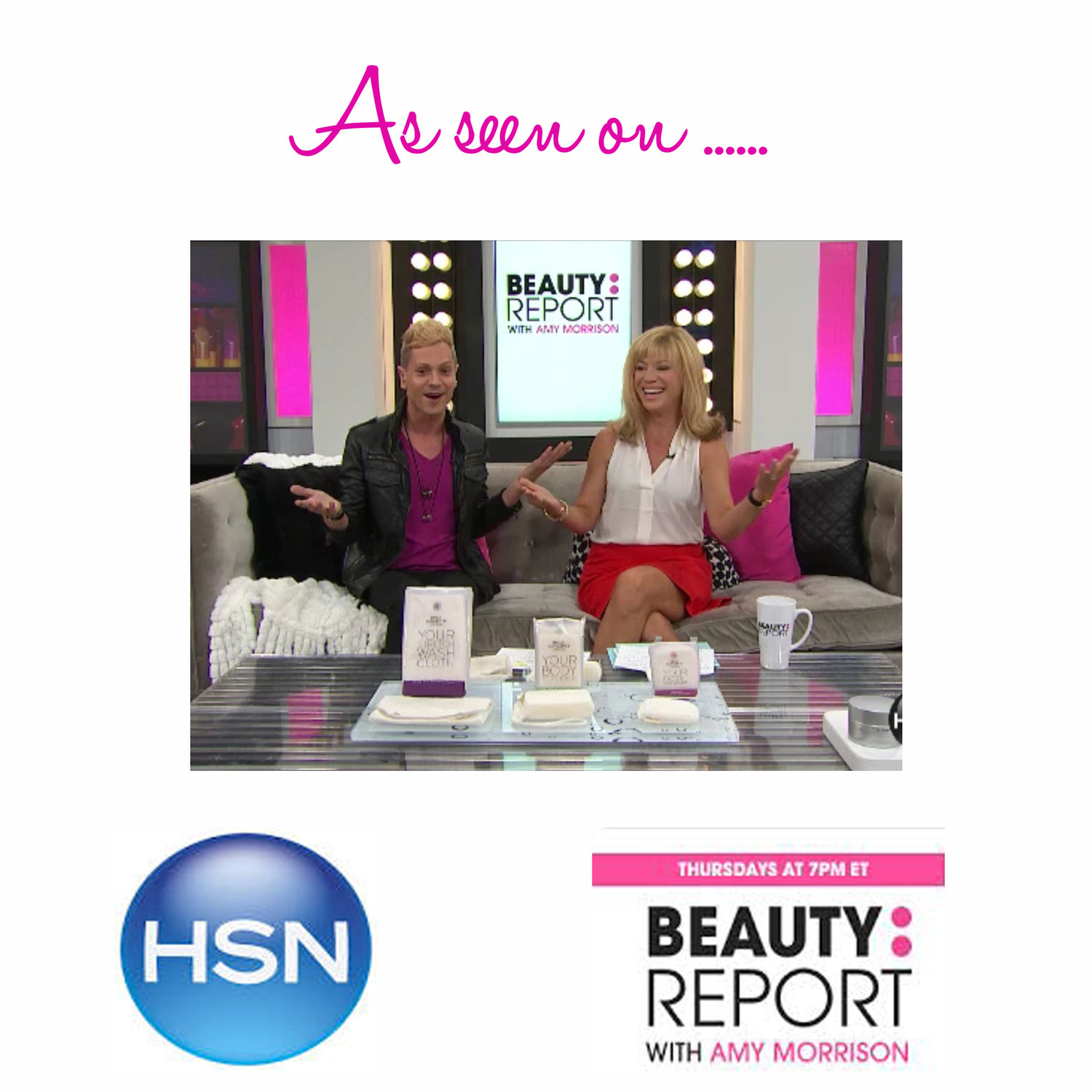 As seen on: HSN's Beauty Report with Amy Morrison