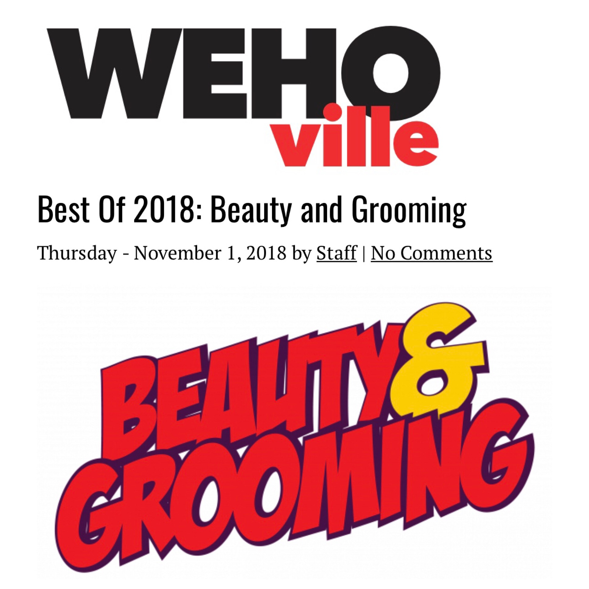 Best Skincare West Hollywood Magazine Gregory Dylan