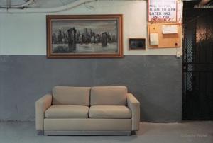 Gesche Würfel,    Untitled 11 (Sofa)