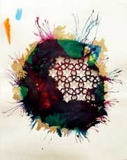 Sherin Guirguis   Untitled,  2013 Mixed media on paper 9 x 11 inches $2500