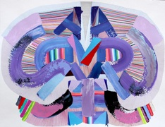 Feodor Voronov   Adverse,  2012 Acrylic, marker, ball-point pen on paper 18 x 23.5 inches $1100
