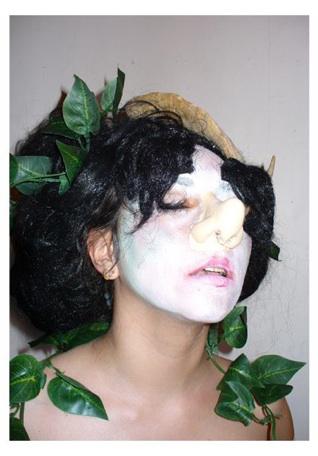 Eliza Swann      Earth Witch in Ecstasy 2   , 2012 Chromogenic Print 16 x 20 in   $1,000