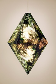 Kirsten Kay Thoen   Arboreal Prism,  2009 Mixed Media Dimensions Variable $ 4000 (hanging)