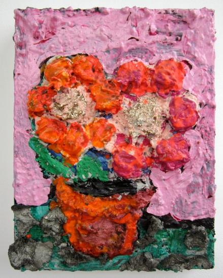 Irena Jurek   Happy Pair,  2010 Acrylic on Canvas 14 x 11 inches $900