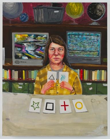 "Amanda Lechner   Gaiter Prat   Delegates,  2011 Egg tempera on panel, 11x14"" $1,650"