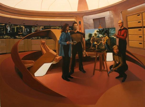 """Shawn Gallagher   Arcadia  Oil on canvas 48x641/2"""" $6,000"""