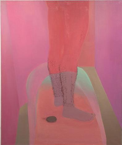 Xinyi Cheng     Bath Tub  ,     2013     Oil on Canvas   37 x 44 in $3, 500