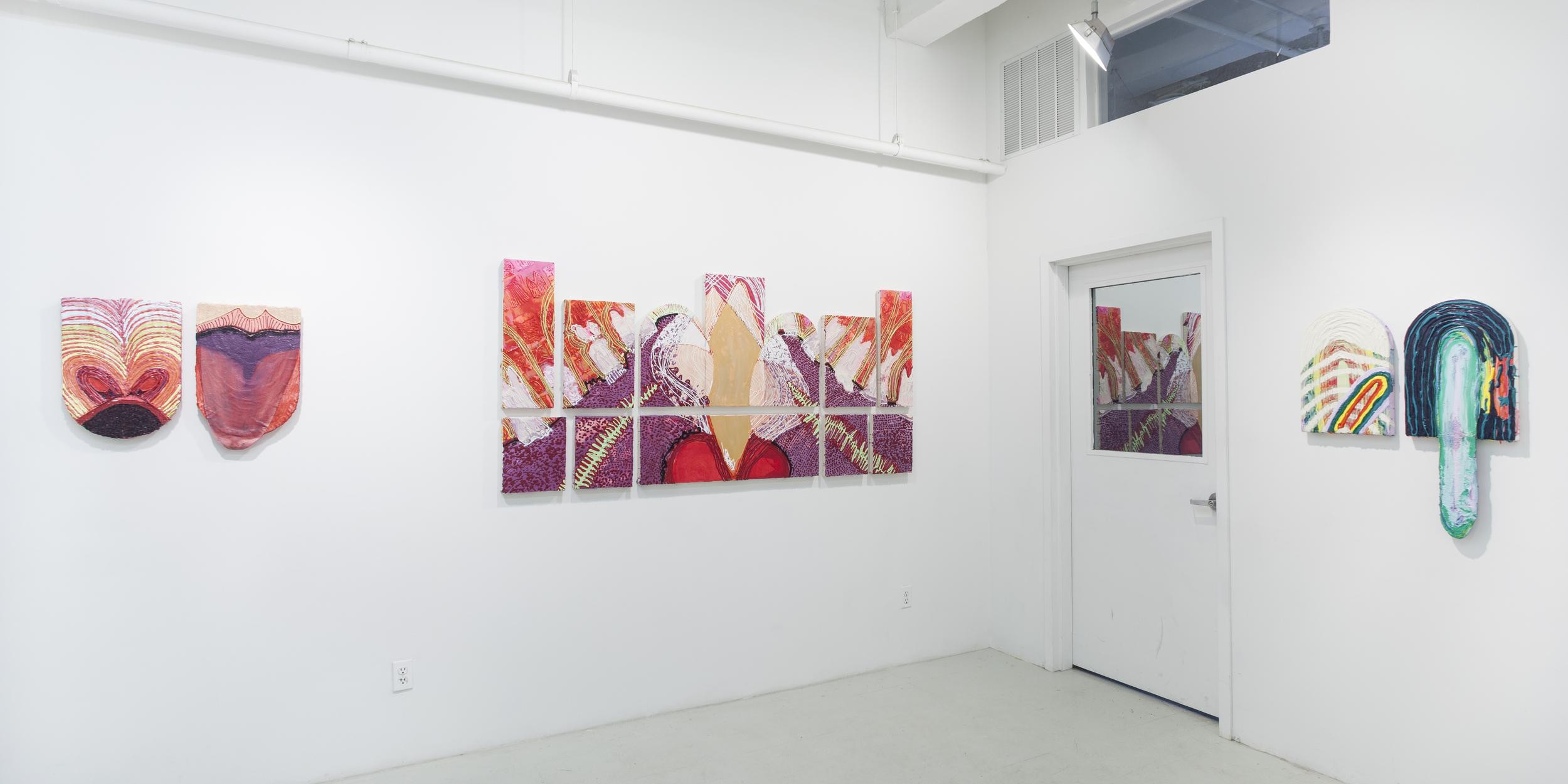 Lauren Britton  French Kiss  Installation