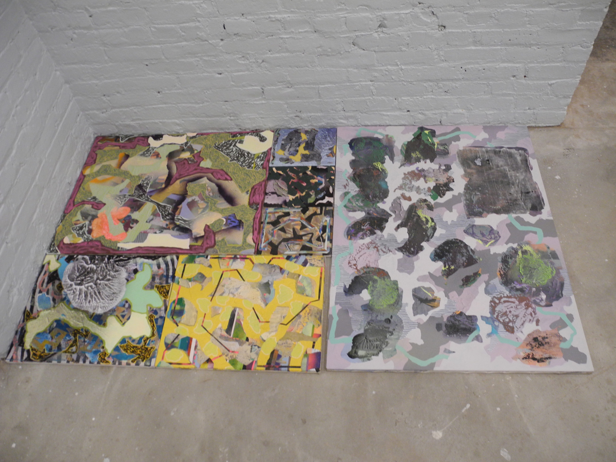 Will Hutnik, Installation view