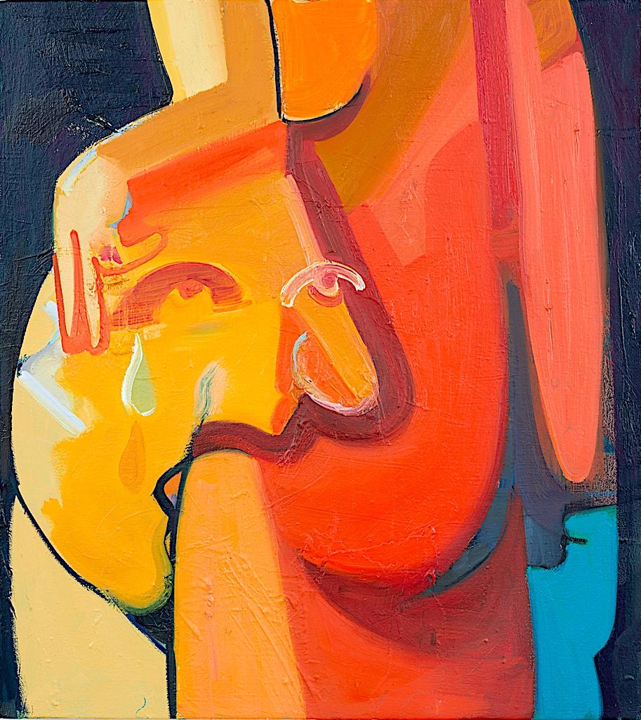 "Danielle Orchard ""Flatter Us"", 2016, oil on canvas, 28"" x 32"""