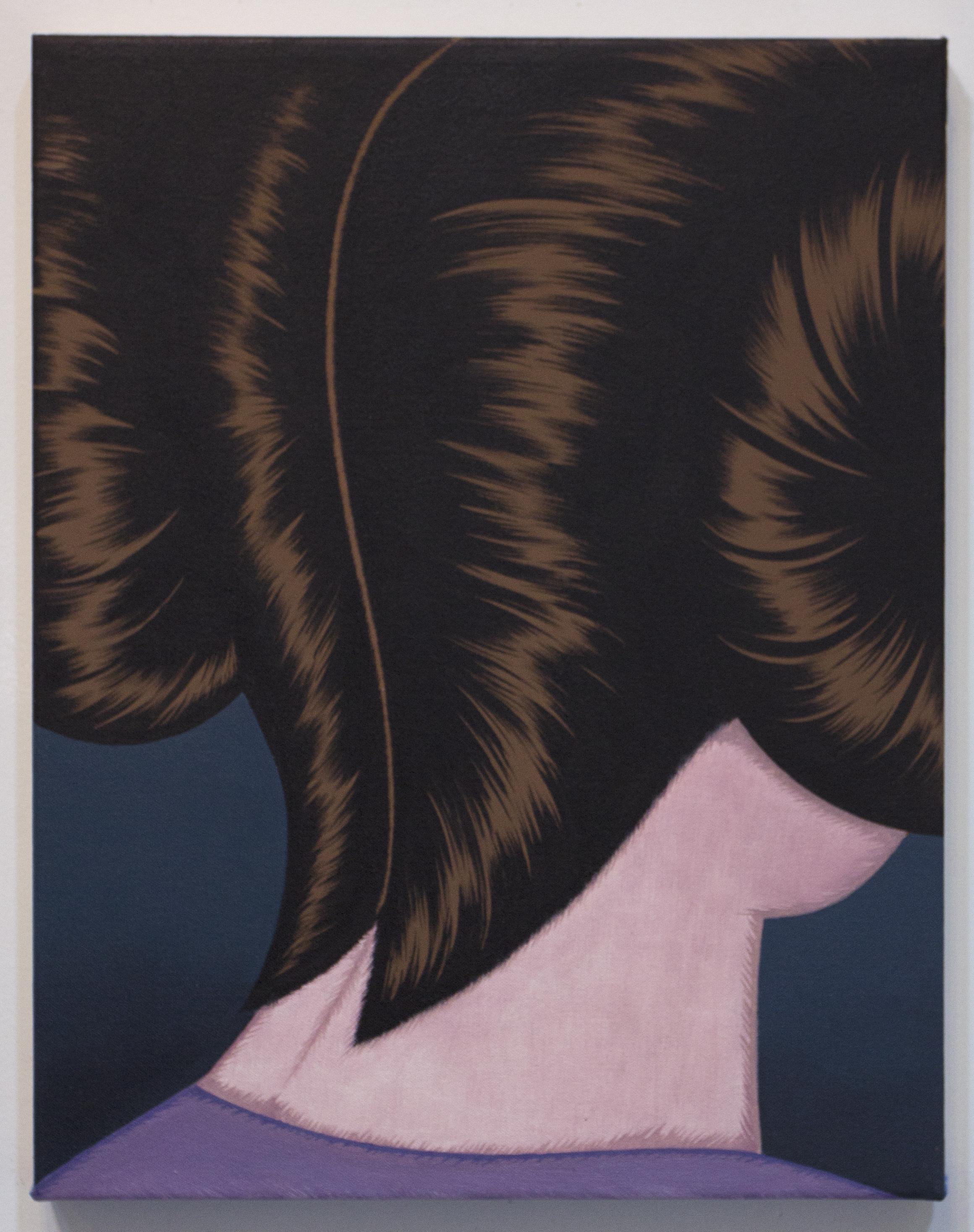 "Julie Curtiss ""Princess"" 2017, oil on canvas, 18"" x 14"""