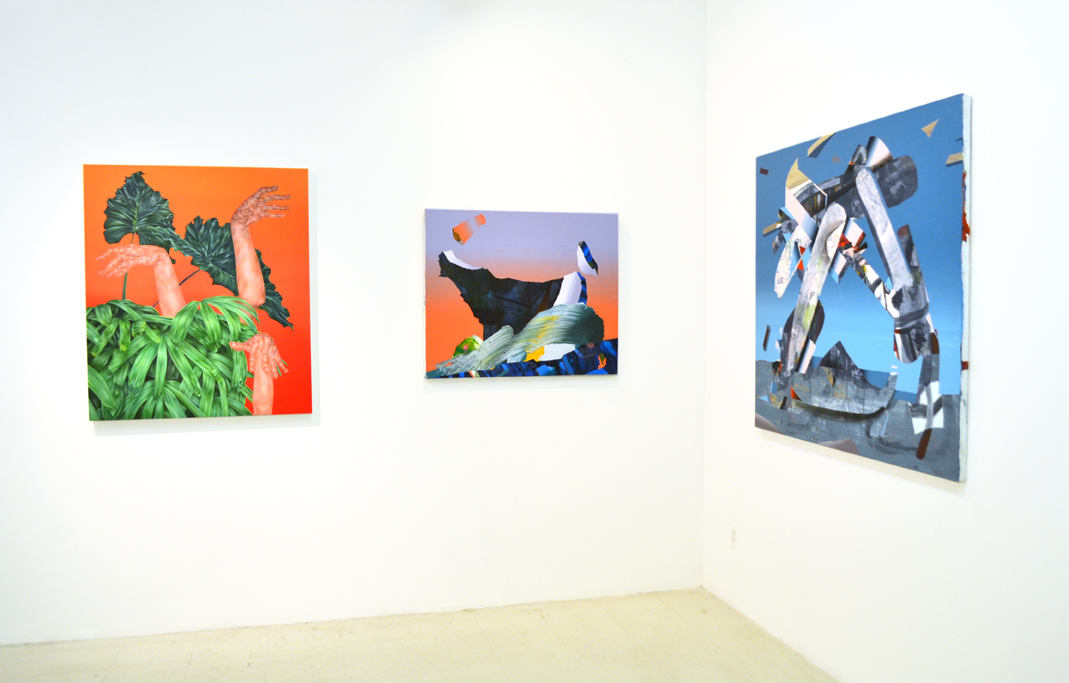 Sliding Doors, Installation view