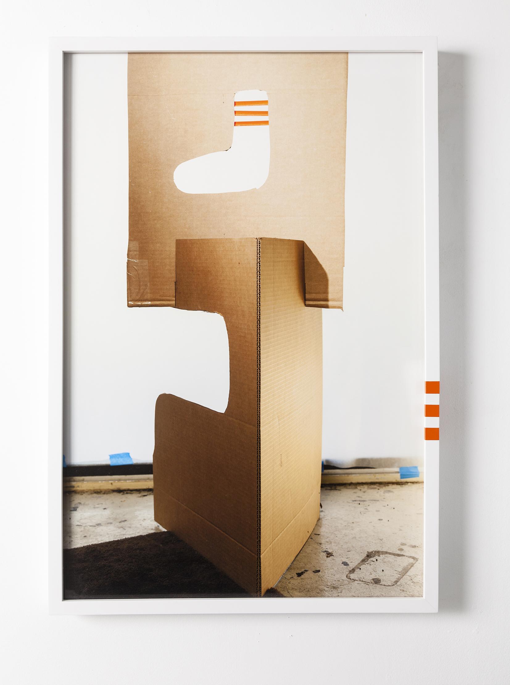 """Barbara Weissberger """"Sock/Not Sock"""", 2017, digital photograph/archival pigment print, artist frame, 30"""" x 20""""   http://barbaraweissberger.net"""