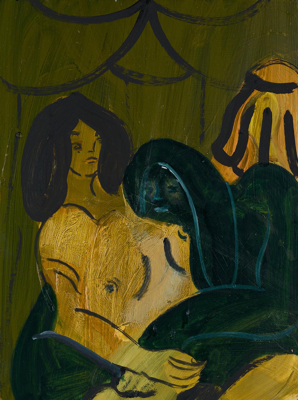 "Anna Ilsley ""Appraisal"" 2017 / oil on board / 20 x 30 cm"