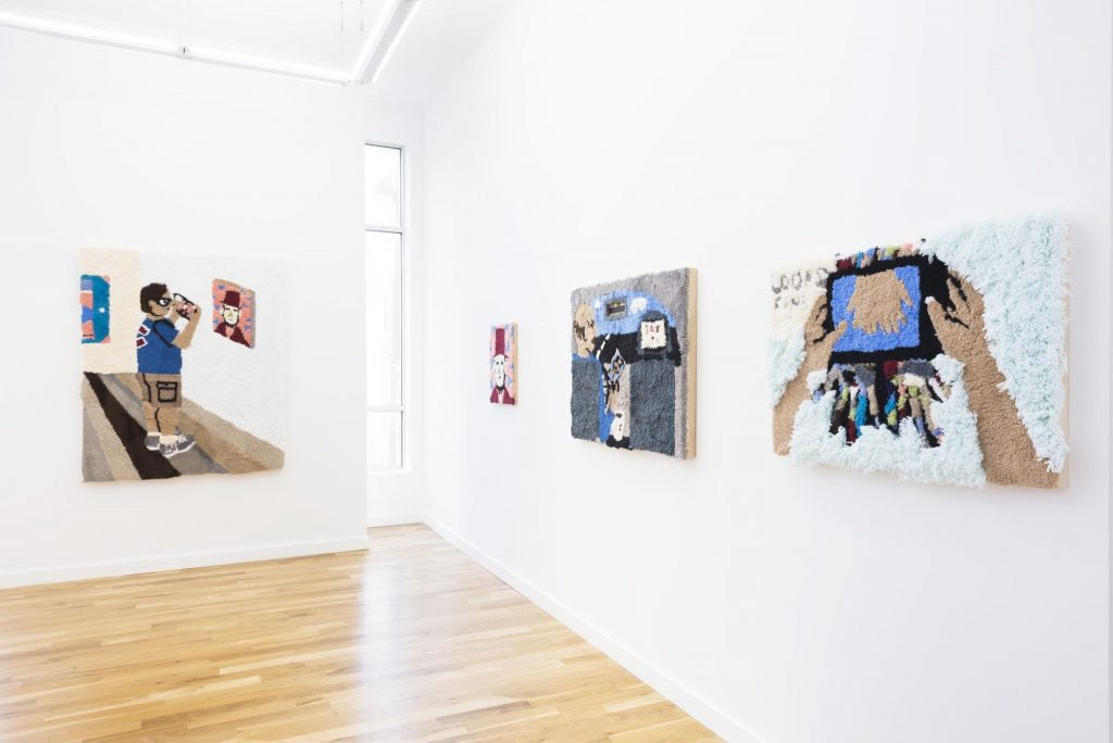 Jessica Campbell,  who dis ,   Western Exhibitions, Chicago, IL. Photograph by James Prinz.