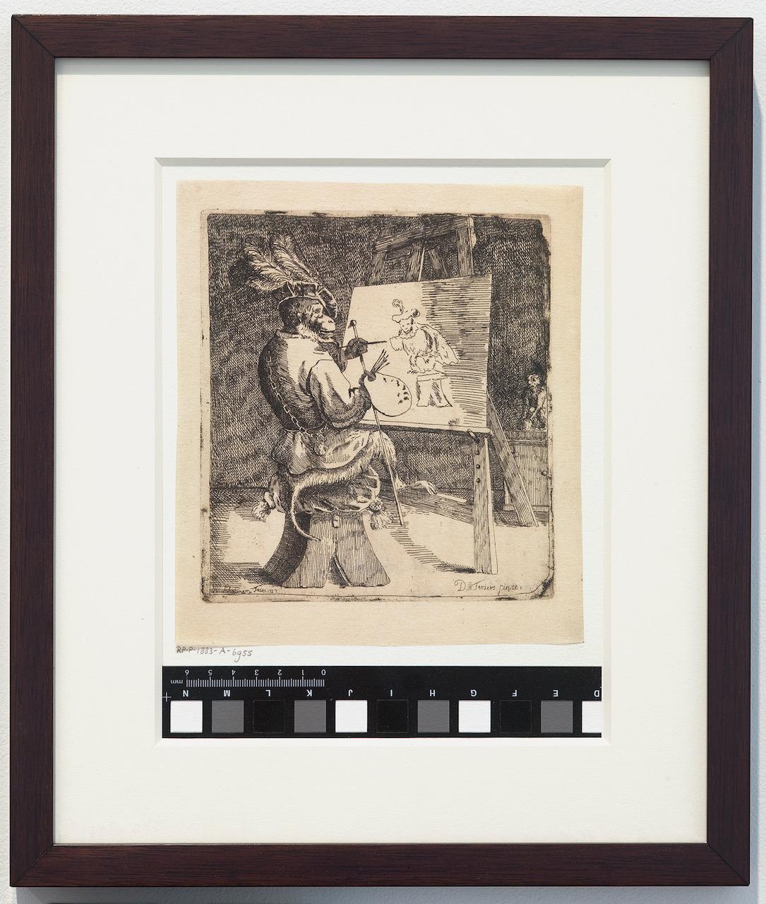 Zorawar_Painting Monkey after Aert Schouman and David Teniers.jpg