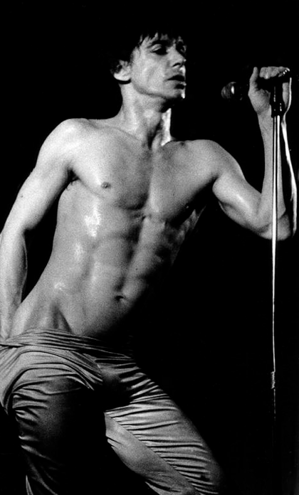 He's got  my  attention. Rock god, cultural icon, and animal activist, Mr. Iggy Pop.