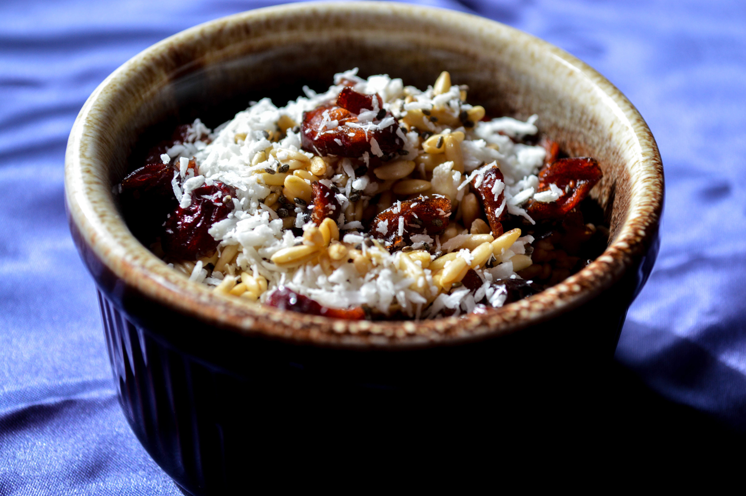 Wild Oats With Cranberries