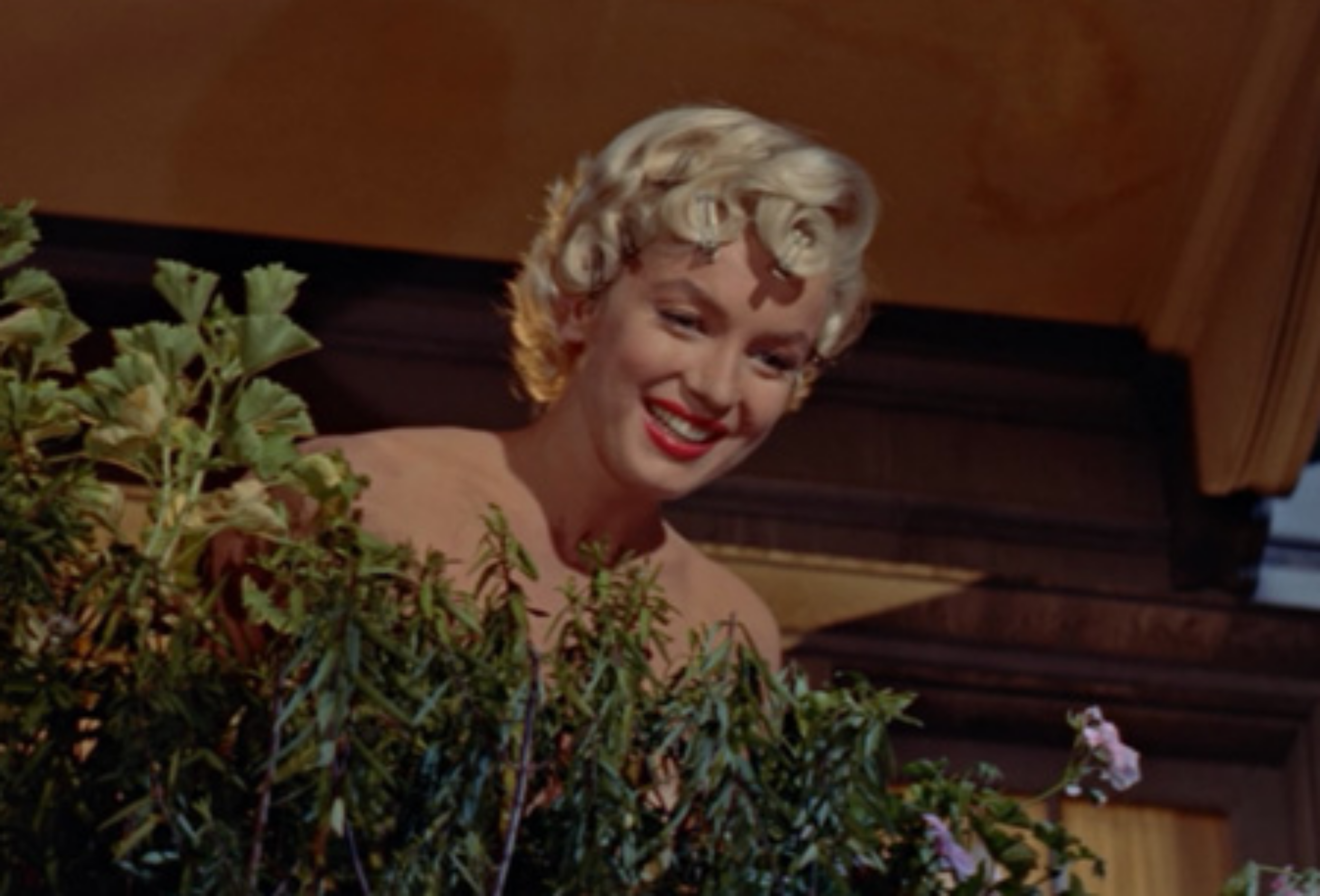 """When it gets hot like this, you know what I do? I keep my undies in the icebox!"" From The Seven Year Itch."