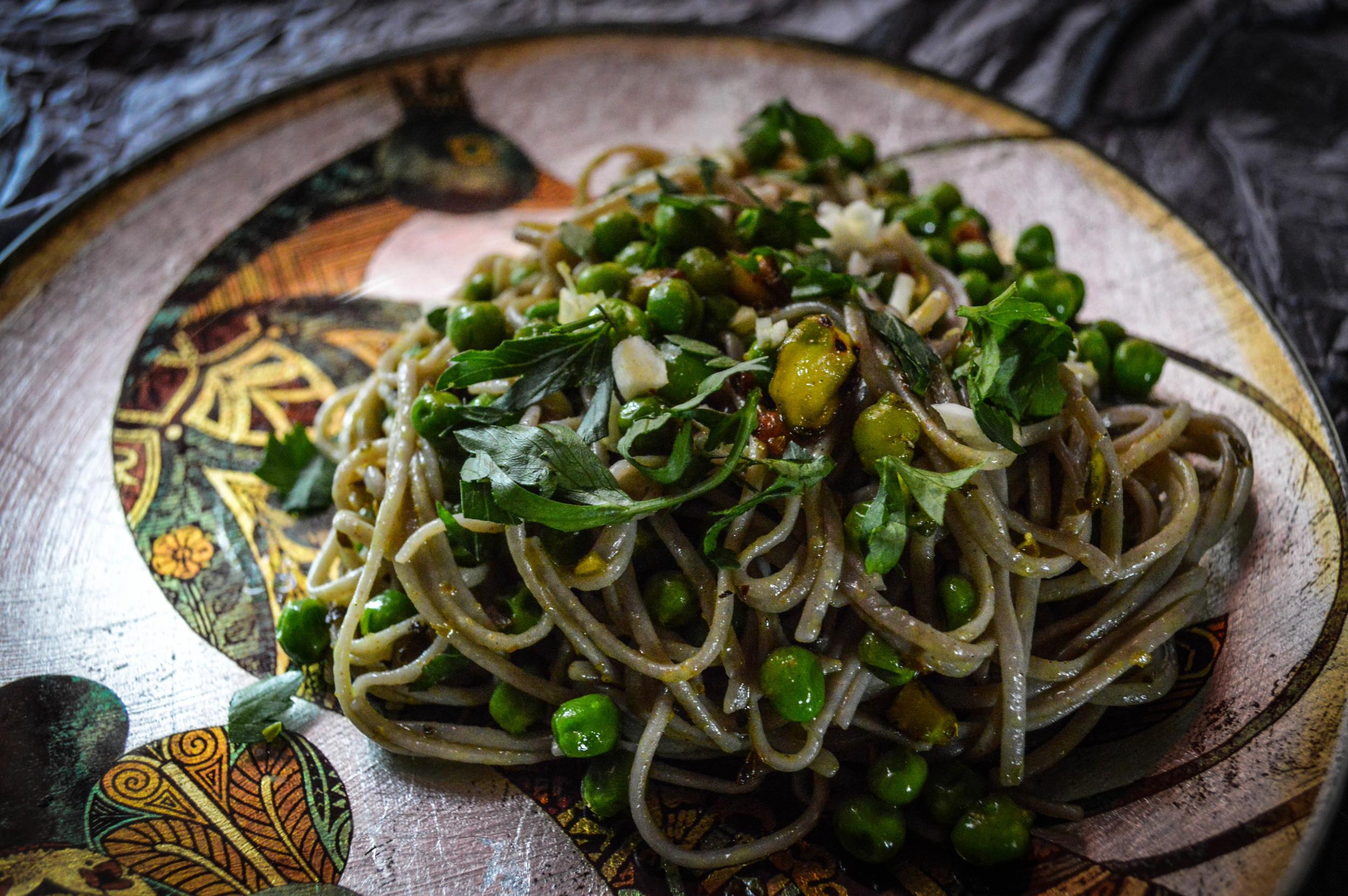 Pistachio Noodles