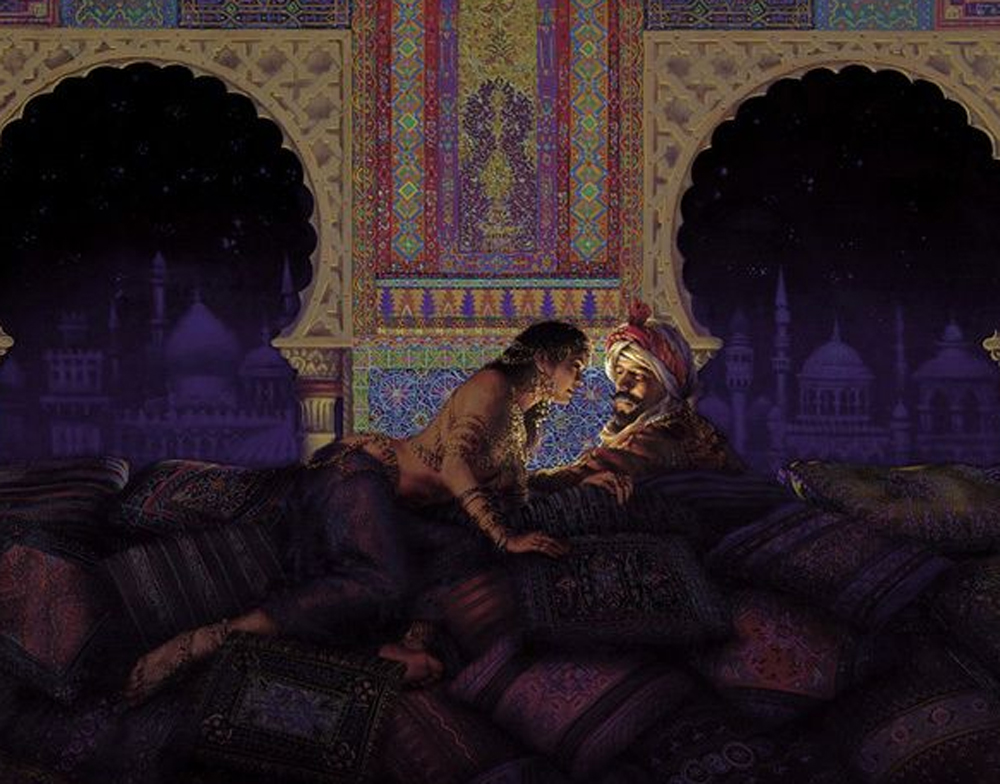 Arabian Nights  by René Milot