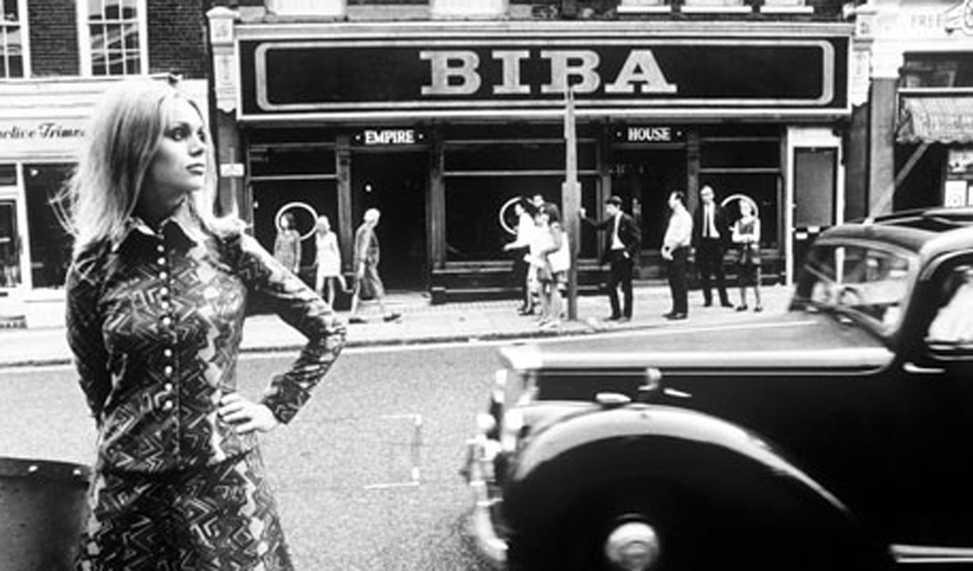 biba boutique, the . mecca of 60's cool