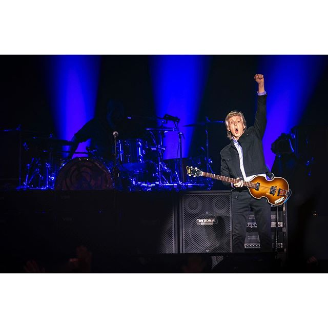 Rock music legend Sir Paul McCartney performs at the TaxSlayer Center in Moline, Tuesday, June 11, 2019.The former Beatle made his first visit to the Quad-Cities as a part of the Freshen Up tour. #onassignment for @qctimes #SirPaul #freshenuptour #paulmccartney #tagthequadcities #qclife #concertphotography