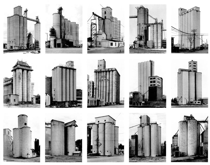 Grain Elevators, Bernd and Hilla Becher