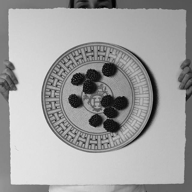 Blackberries on Hermes