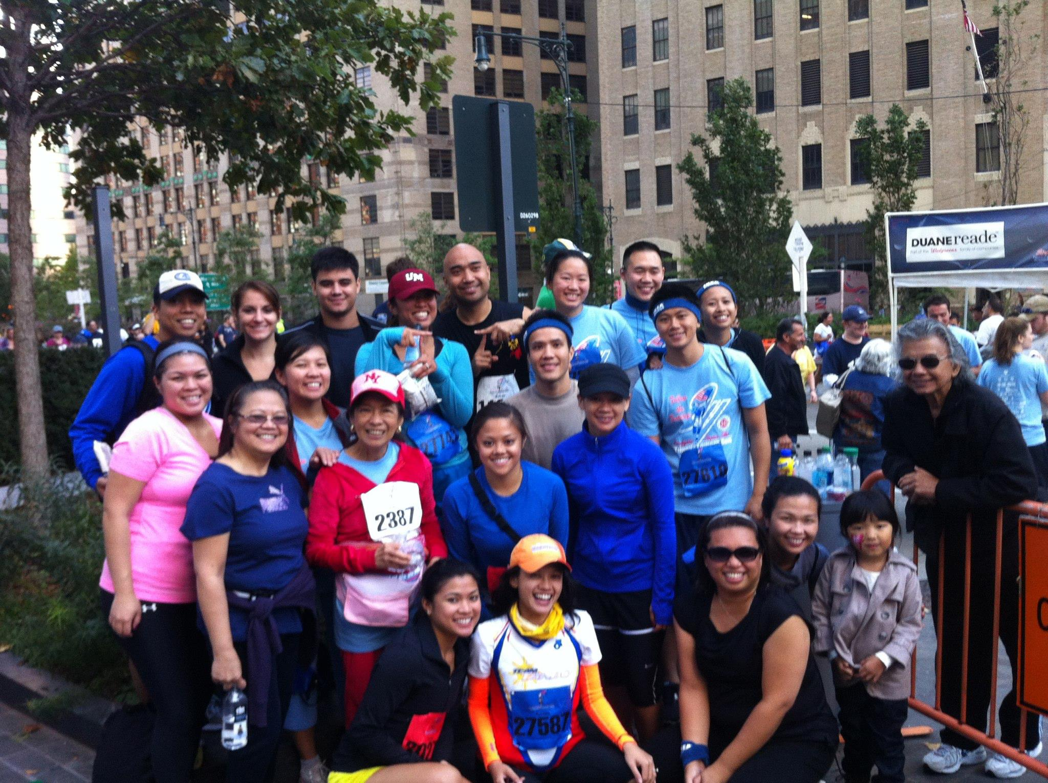 Team TORCHE Bearers @ Tunnel to Towers 5K 2012