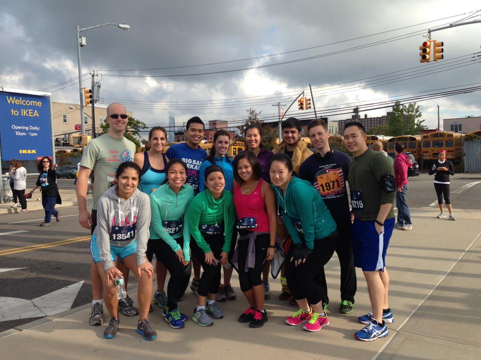 Team TORCHE Bearers @ Tunnel to Towers 5K 2013