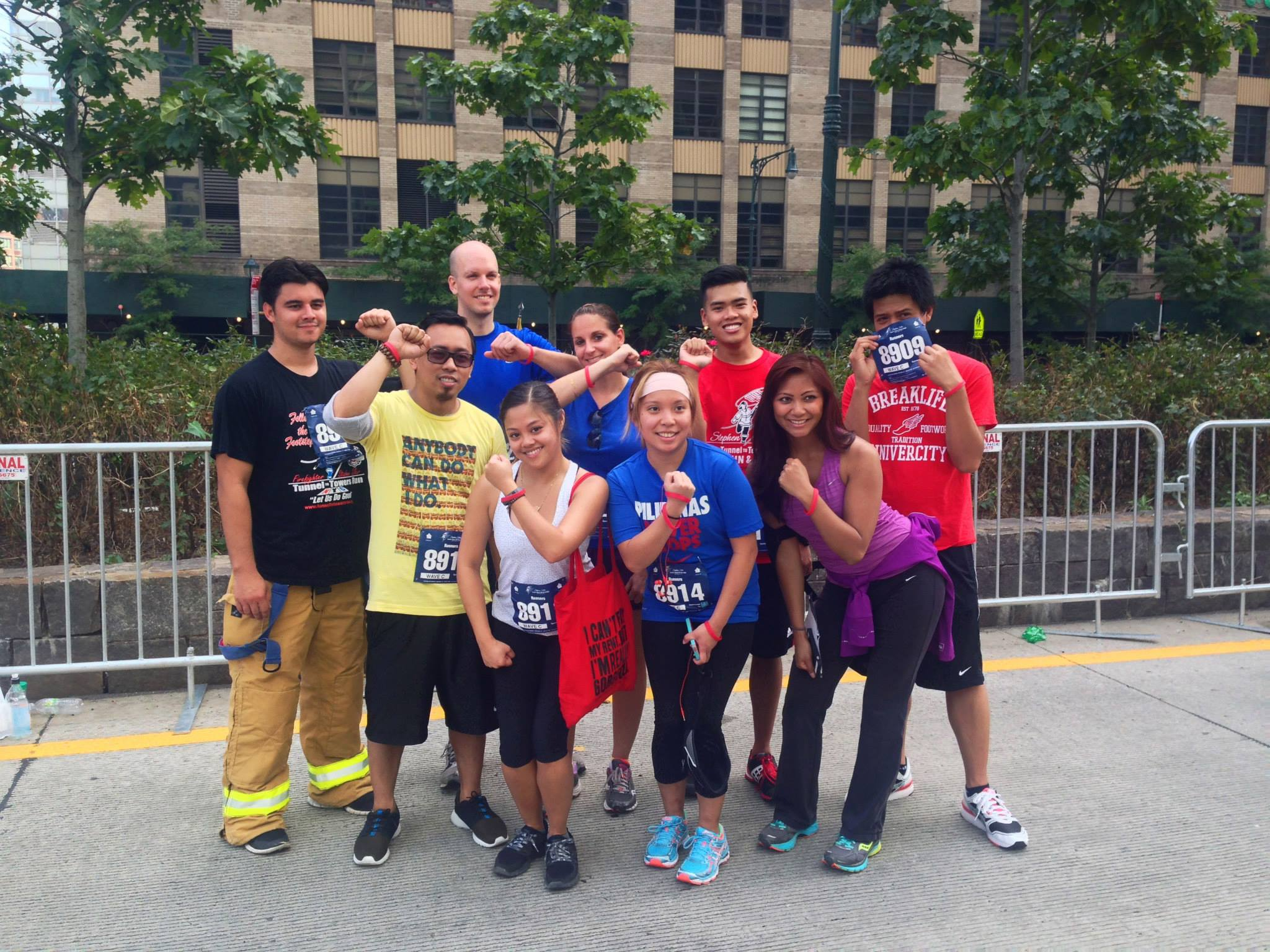 Team TORCHE Bearers @ Tunnel to Towers 5K 2014
