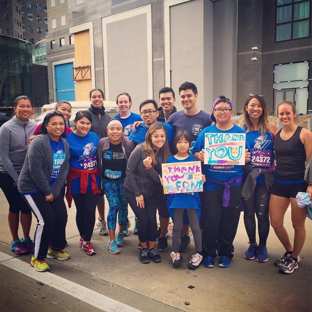 Team TORCHE Bearers @ Tunnel to Towers 5K 2015