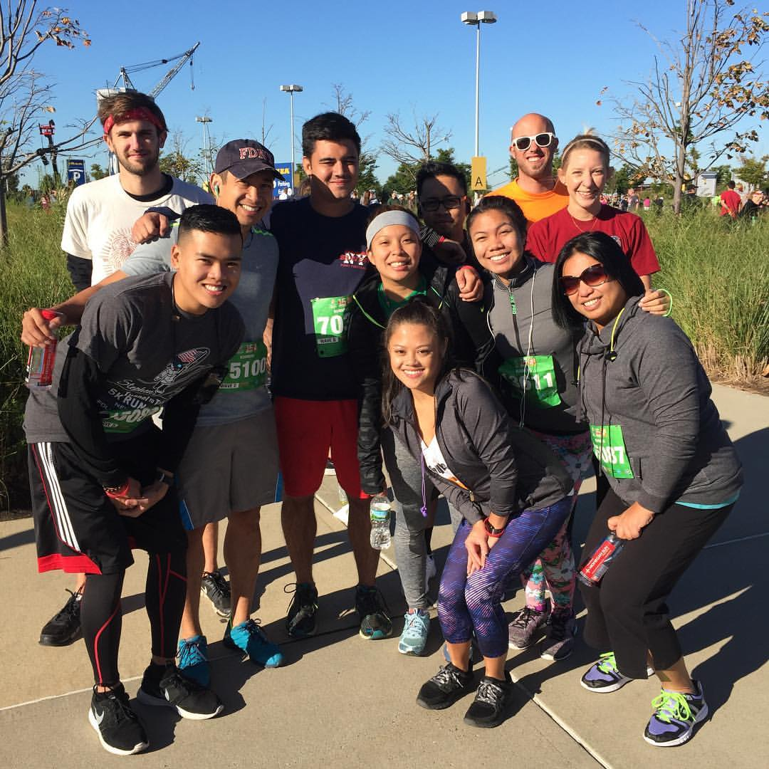 Team TORCHE Bearers @ Tunnel to Towers 5K 2016
