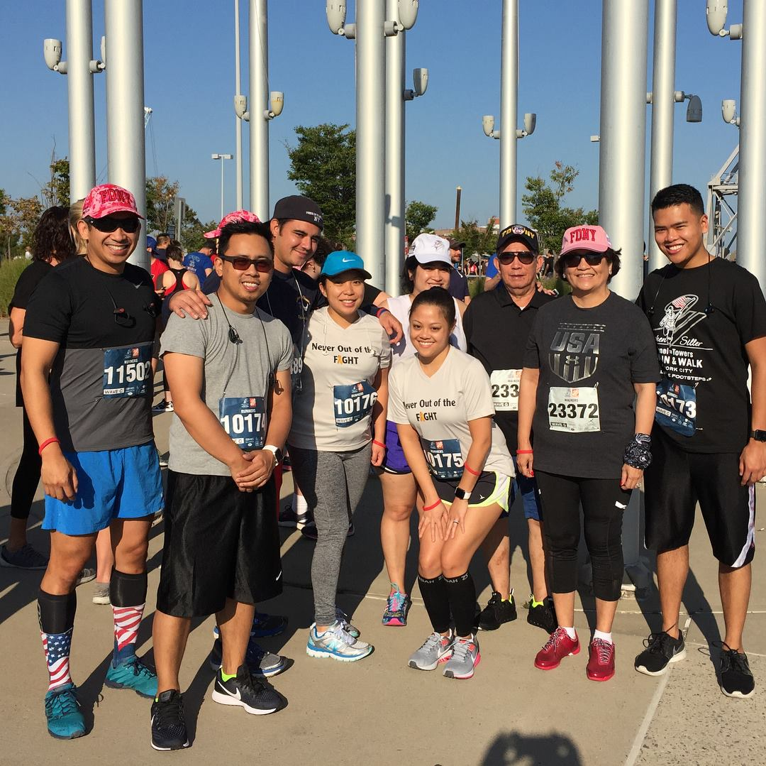 Team TORCHE Bearers @ Tunnel to Towers 5K 2017
