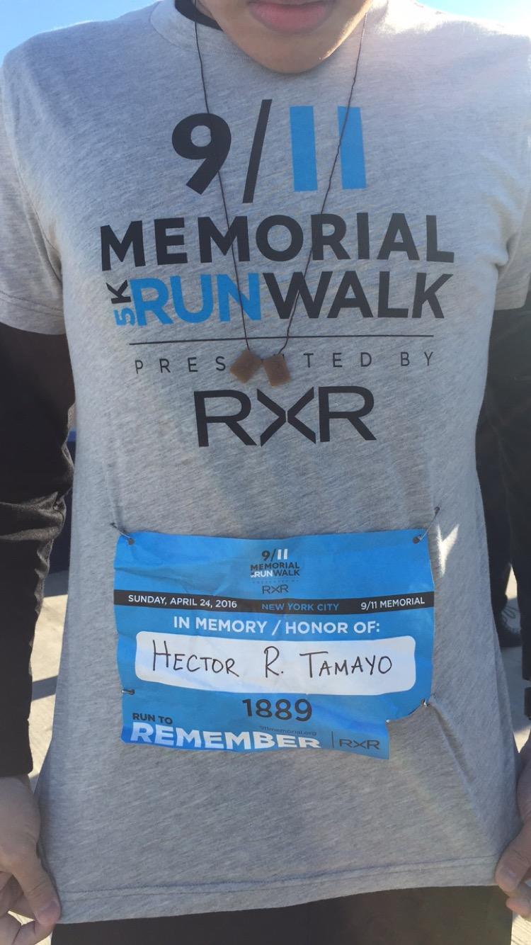Team TORCHE Bearers @ 9/11 Memorial 5k Run/Walk 2016