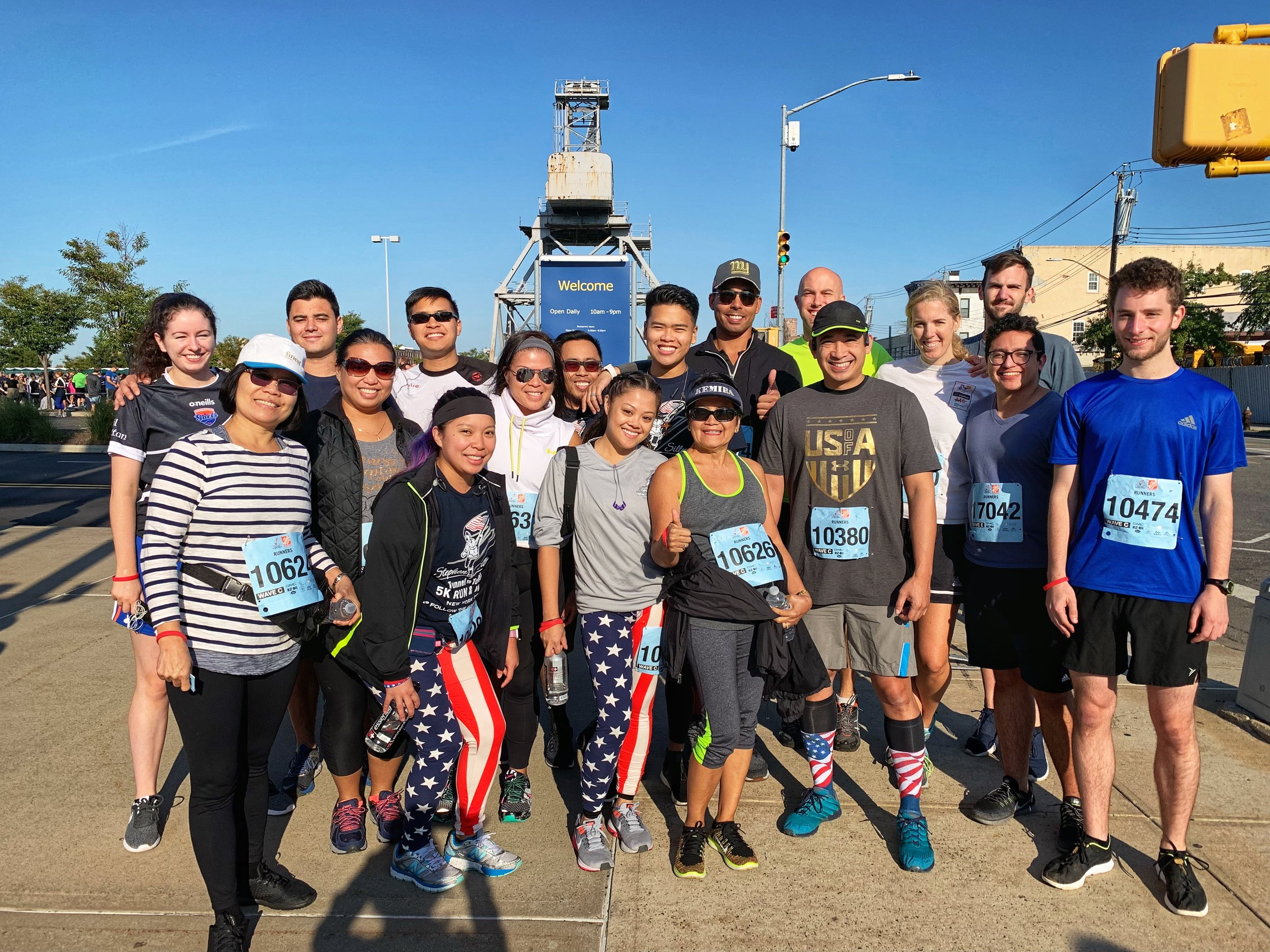 Team TORCHE Bearers @ Tunnel to Towers 5K 2018