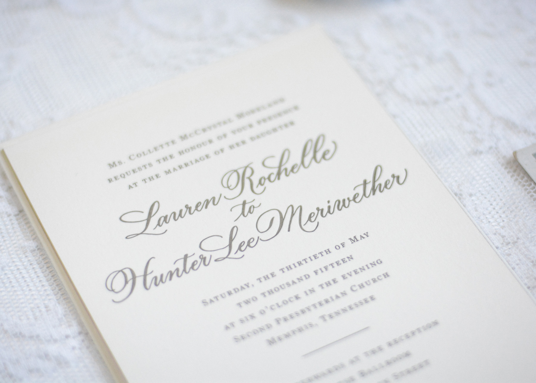 New Jersey Wedding Invitation Calligraphy | Calligraphy by Mary Ellen New York Wedding New York Calligraphy New York Invitations