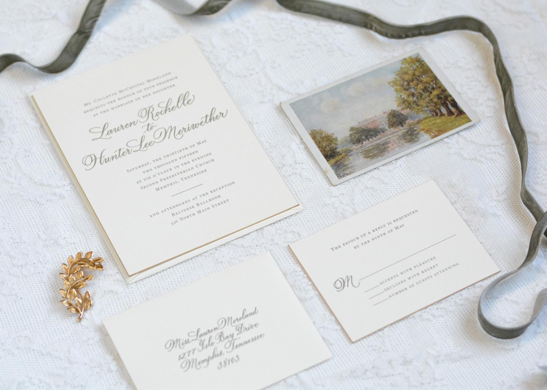 New Jersey Wedding Invitation Calligraphy | Calligraphy by Mary Ellen  New York Weddings New York Calligraphy New York Invitations