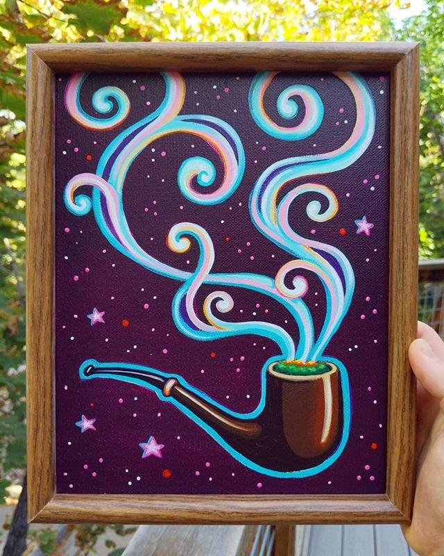 Running a sweet deal on this framed mini // ✌️😊❤️ // available at the link in my profile!!!