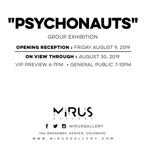 "Honored to have a couple pieces in the upcoming ""PSYCHONAUTS"" show at @mirusgallery!! Follow the link in @mirusgallery's profile to RSVP to make sure you can get in. // ✌️😊❤️ // They have an overwhelmingly killer lineup for this show, you won't want to miss it!! . . . .  #psychedelicart #psytrip #psychonaut #lsdart #acidtrip #psychedelic #mirusgallerydenver #trippyartist #acidart #psychedelictrip #psychedelicartist #dmtart #psychedelicartwork #psyartworld  #psytranceart #psychonaut #trippynation #visionaryart #visionaryartist #spiritualartist #cosmicart #mushroomart #symmetry #mushlove #shroomart #magicmushroom #geometricart #painting #johnspeakerart #boulderco"
