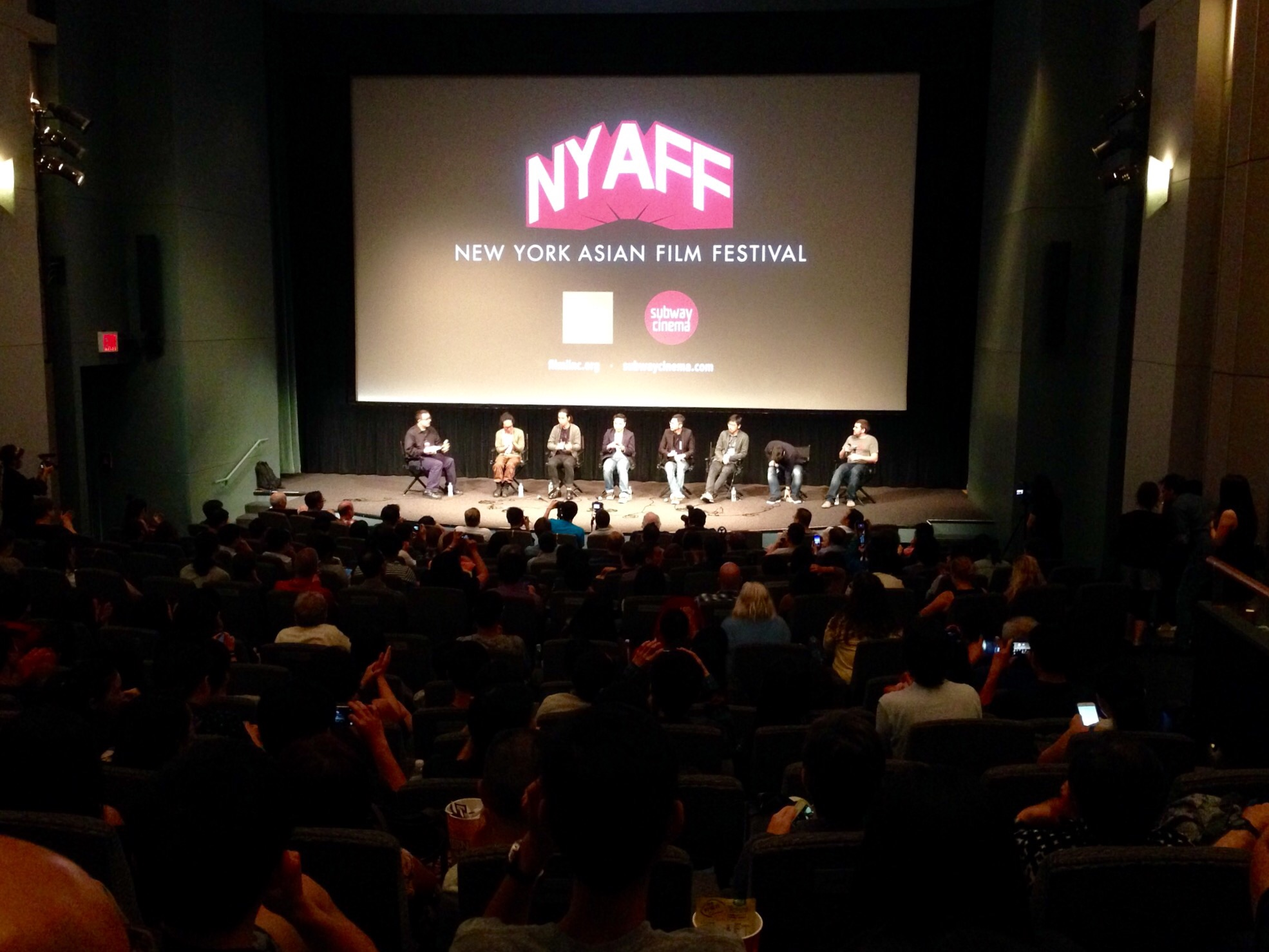 Producers and Directors of Ten Years in NYAFF