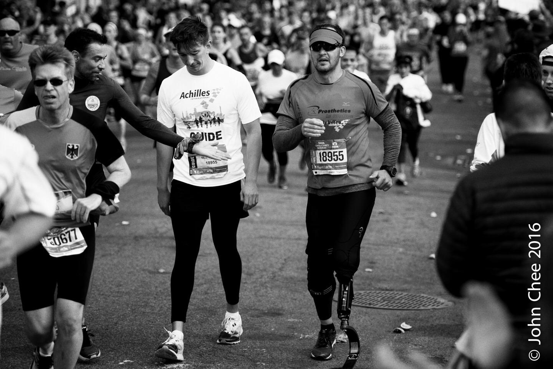Series: Inspired (1/9) - Challenge, NYC Marathon (2016)