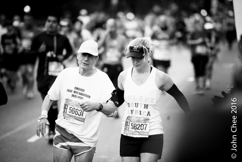 "Series: Inspired (9/9) - ""1976-????"" NYC Marathon (2016)"